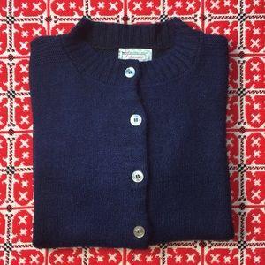 Prim Navy Vintage Cardigan